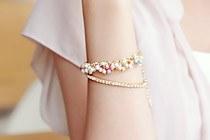 228182 - <BC109-S> [品切れ間近]やっ真珠ブレスレット
