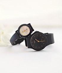 233117 - <WC036-BE12> 【CASIO】カシオスモーキー黒時計