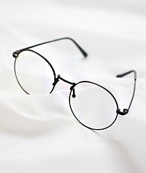 238006 - <FI031-BD09>現代のラウンドファッションのメガネ