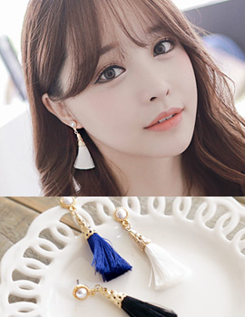 1043469 - <ER758-DH30[당일출고]>パウリナタッセルピアス