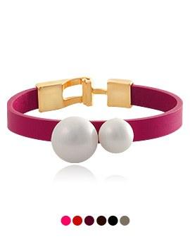 1044097 - <BC477_HC16>ヒラメ真珠ブレスレット