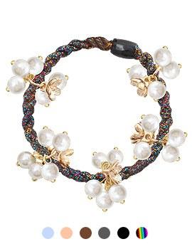 1044135 - <HA431_H7> 【当日出荷】ミルキー真珠ポニーテール