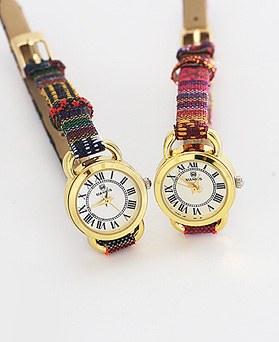 1044281 - <WC100_S> 【当日出荷】シンプルエスニック革時計