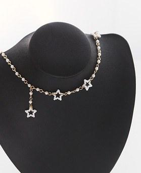 1045865 - <NE428_IG033>襟真珠チョーカーネックレス