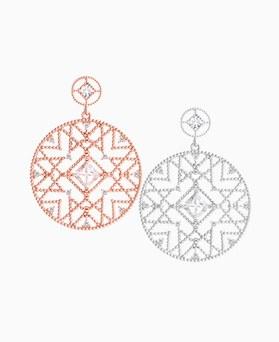1046051 - <ER1427_CH10> 【银针]アモスラウンドピアス