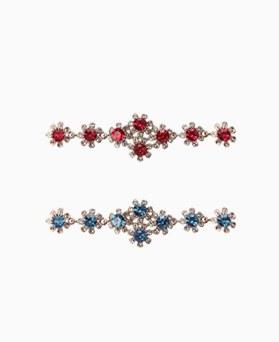 1046509 - <BC710_ID05>ルイスお花キュービックブレスレット