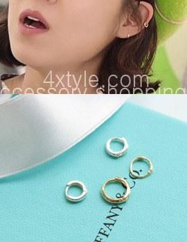 223168 - <ER337-JA10> [10k 金] Minimal Ring (耳殻) イヤリング