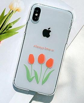 1048648 - <FI220_DM07>愛君がチューリップiPhoneの互換性のあるケース