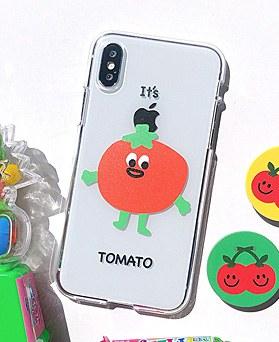 1048651 - <FI223_DM07>トマトマト、iPhone互換性のあるケース