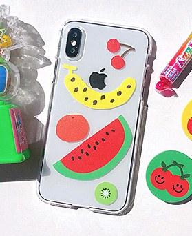 1048656 - <FI228_DM07>フルーツセット、iPhone互換性のあるケース