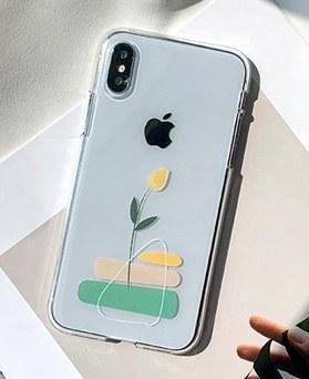 1048674 - <FI230_DM07>黄色いチューリップiPhoneの互換性のあるケース