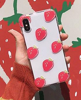 1048693 - <FI240_DM07>イチゴイチゴのiPhoneの互換性ケース