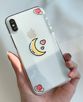 1048697 - <FI244_DM07>愛の月光、iPhone互換性のあるケース