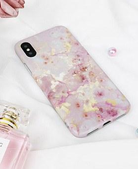 1048747 - <FI251_DM>ピンク輝き、iPhone互換性のあるケース