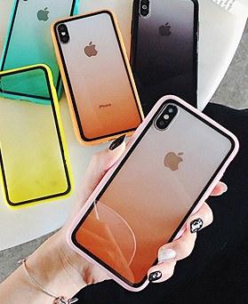 1048845 - マカロングラデーション、iPhone互換性のあるケース