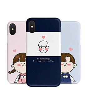 1048953 - <IP0031>かわいいカップル、iPhone互換性のあるケース