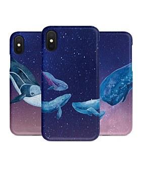 1048968 - <IP0038>夜空クジラ、iPhone互換性のあるケース