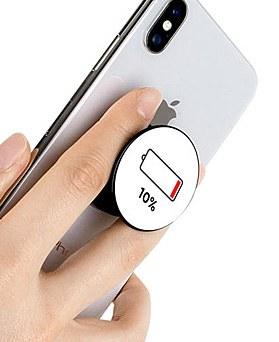 1049066 - <GR035>バッテリーイラストグリップフリック
