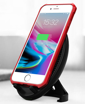 1049166 - <IP0055>フォンガード空気バンパーハード、iPhone互換性のあるケース