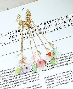 1049828 - <BC813_IE18> [ハンドメード]スピア花ブレスレット